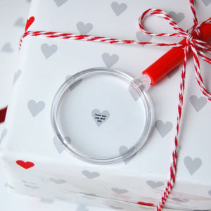 Mini Hearts Wrapping Paper Set - Clara and Macy