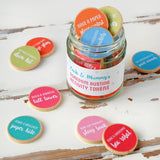 Personalised Mummy And Me Activity Tokens Jar - Clara and Macy