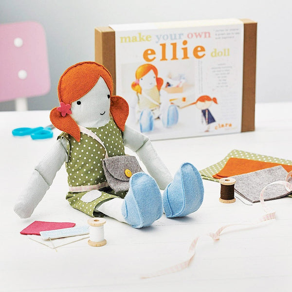 Personalised Make Your Own Doll Kit - Clara and Macy