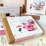 Make Your Own Piglet Kit - Clara and Macy