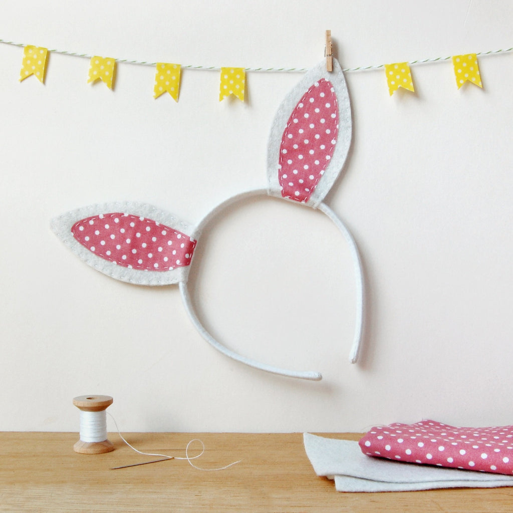 Make Your Own Rabbit Ears Craft Kit - Clara and Macy