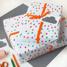 Raindrop Wrapping Paper Set