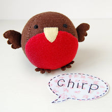 Make Your Own Robin Craft Kit - Clara and Macy