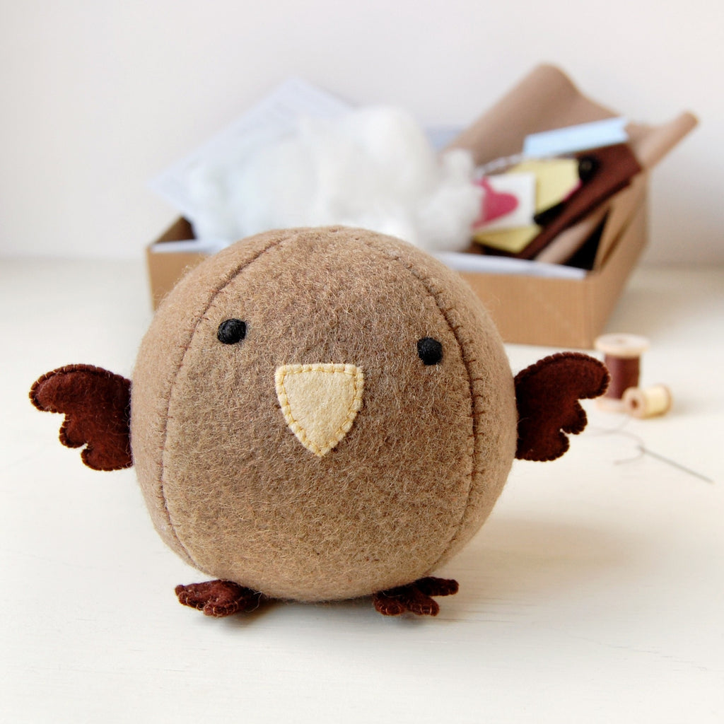 Make Your Own Sparrow Craft Kit - Clara and Macy