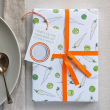 Sprouts And Parsnips Wrapping Paper Set - Clara and Macy
