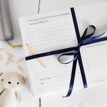 Write Your Own Daddy Story Wrapping Paper Set - Clara and Macy