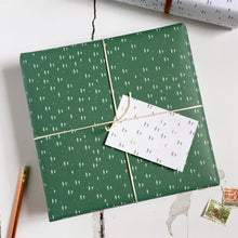 Mini Christmas Trees Mixed Wrapping Paper Set - Clara and Macy