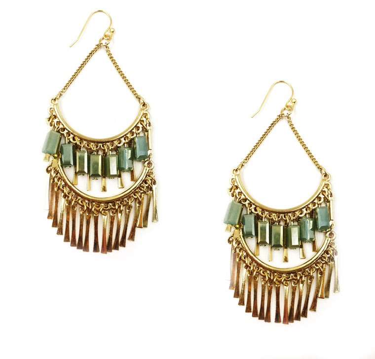 Chandelier  Statement Earrings