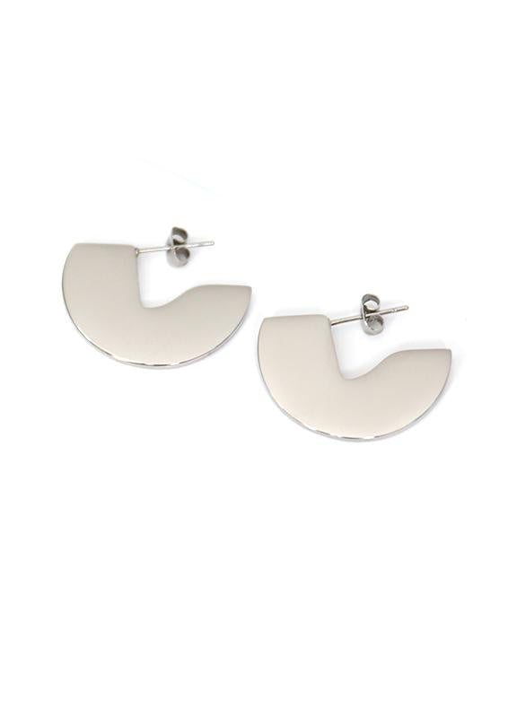 Esta Earrings - Silver