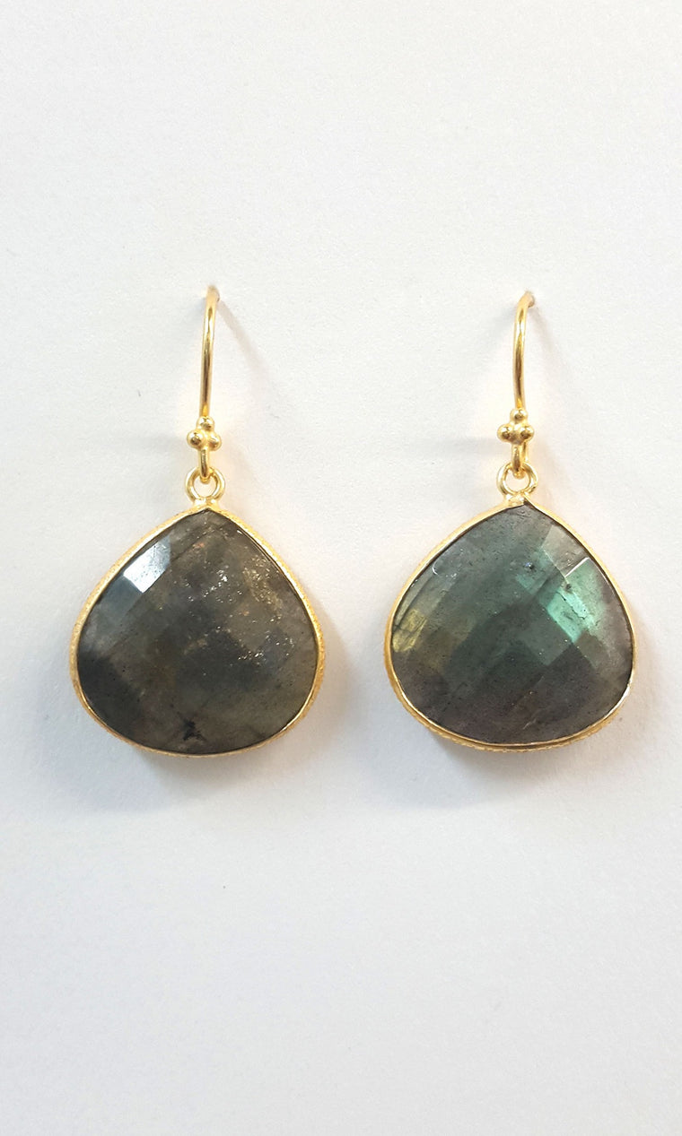 Resort Earrings - Labradorite