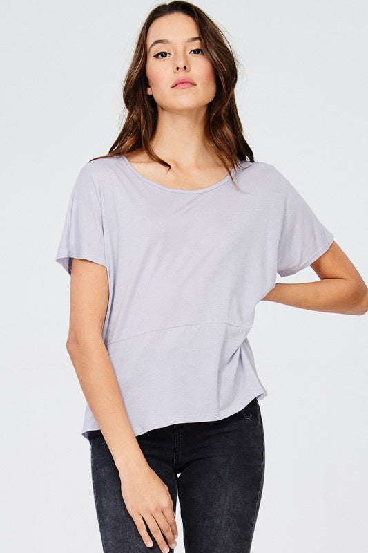 Raglan Scoop Neck - Lavender