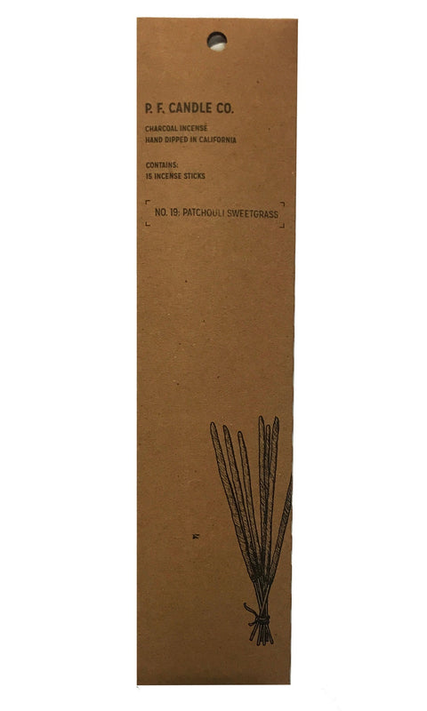 Incense - Patchouli Sweetgrass