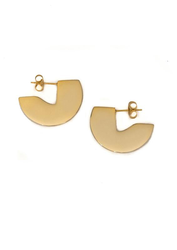 Esta Earrings - Gold