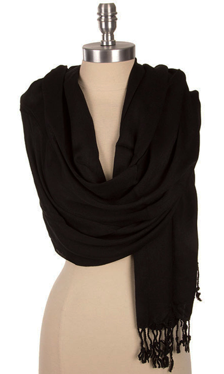 Essential Scarf - Black