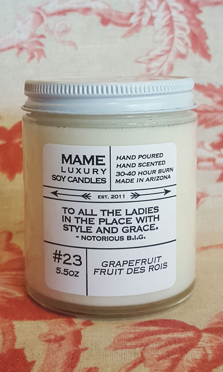 Candle - Grapefruit, Fruit des Rois