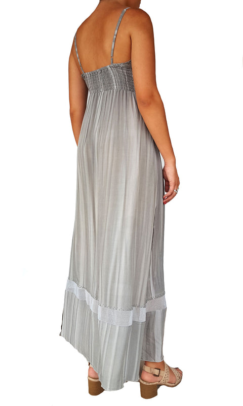 Jasper Dress - Shadow Grey