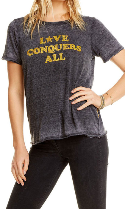 Love Conquers Tee