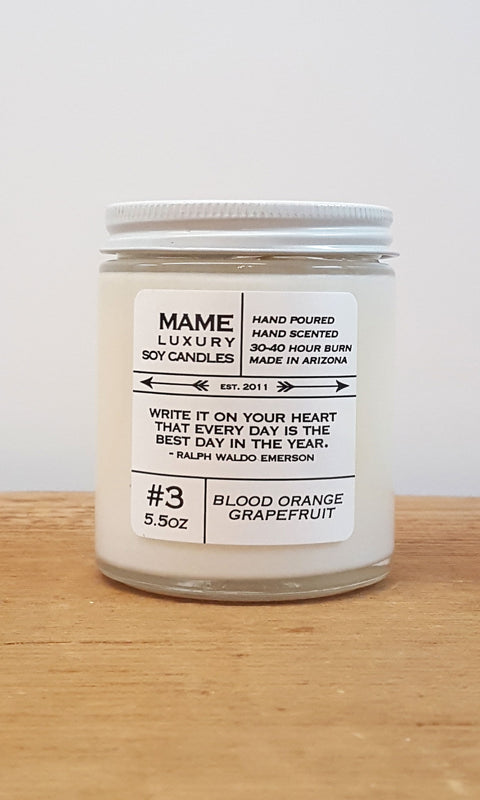 Candle - Blood Orange Grapefruit