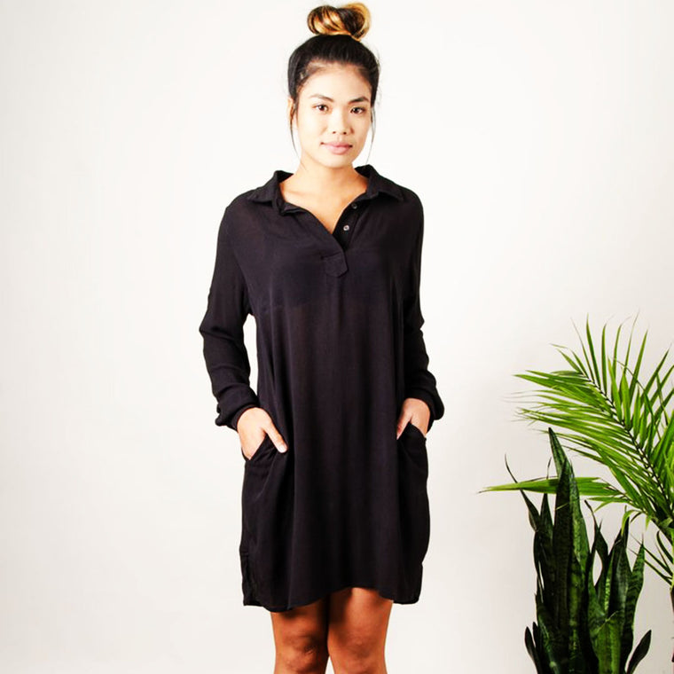 Rachana Tunic - Black