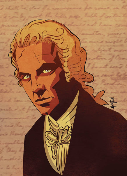 HAMILTON GRAPHIC HIST AMERICAS CELEBRATED FOUNDING FATHER TPB