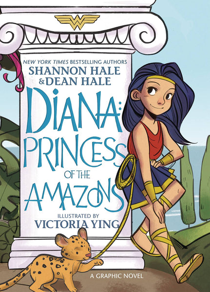 DIANA PRINCESS OF THE AMAZONS TRADE PAPERBACK (SHIPS 1/1/20)
