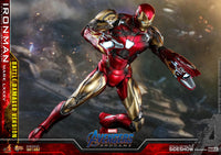SIDESHOW HOT TOYS Iron Man Mark LXXXV Battle Damaged Version (SHIPS SEPTEMBER 2021)