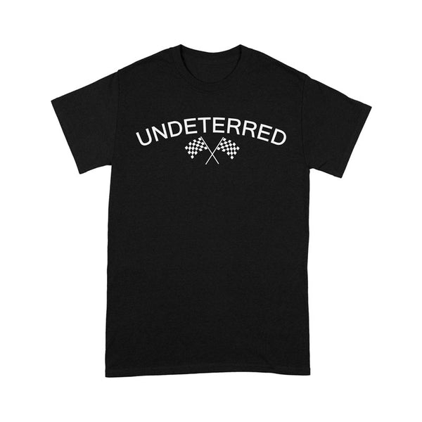 UNDETERRED Logo Tee - Black
