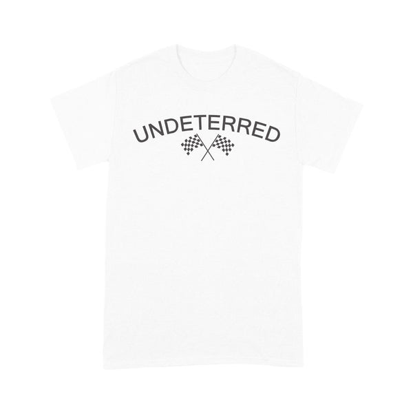 UNDETERRED Logo Tee - White