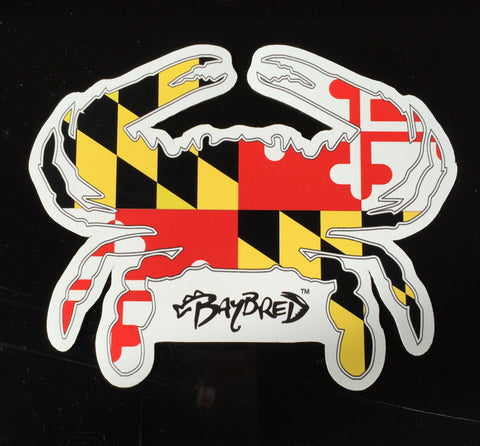 Maryland Crab Flag Magnet - Bay Bred™
