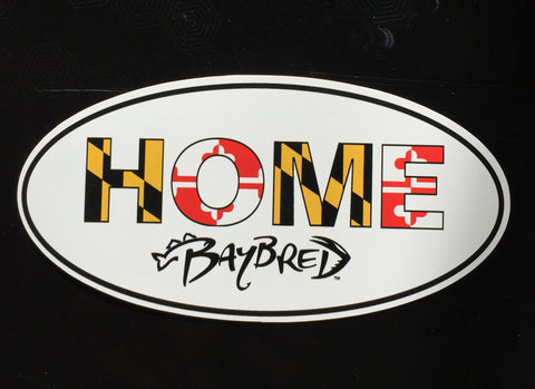 HOME Oval Magnet - Bay Bred™