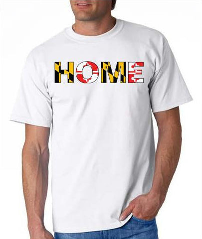 Men's Maryland Flag HOME TEE