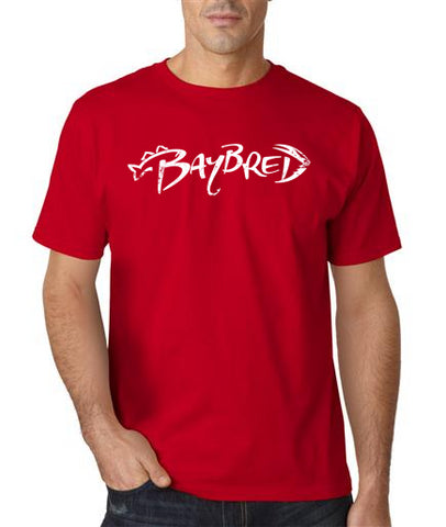 Men's Bay Bred Logo Short-Sleeve Tee Shirt