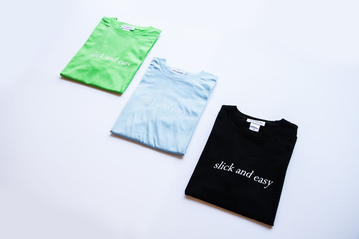 SLICK & EASY LOGO TEE