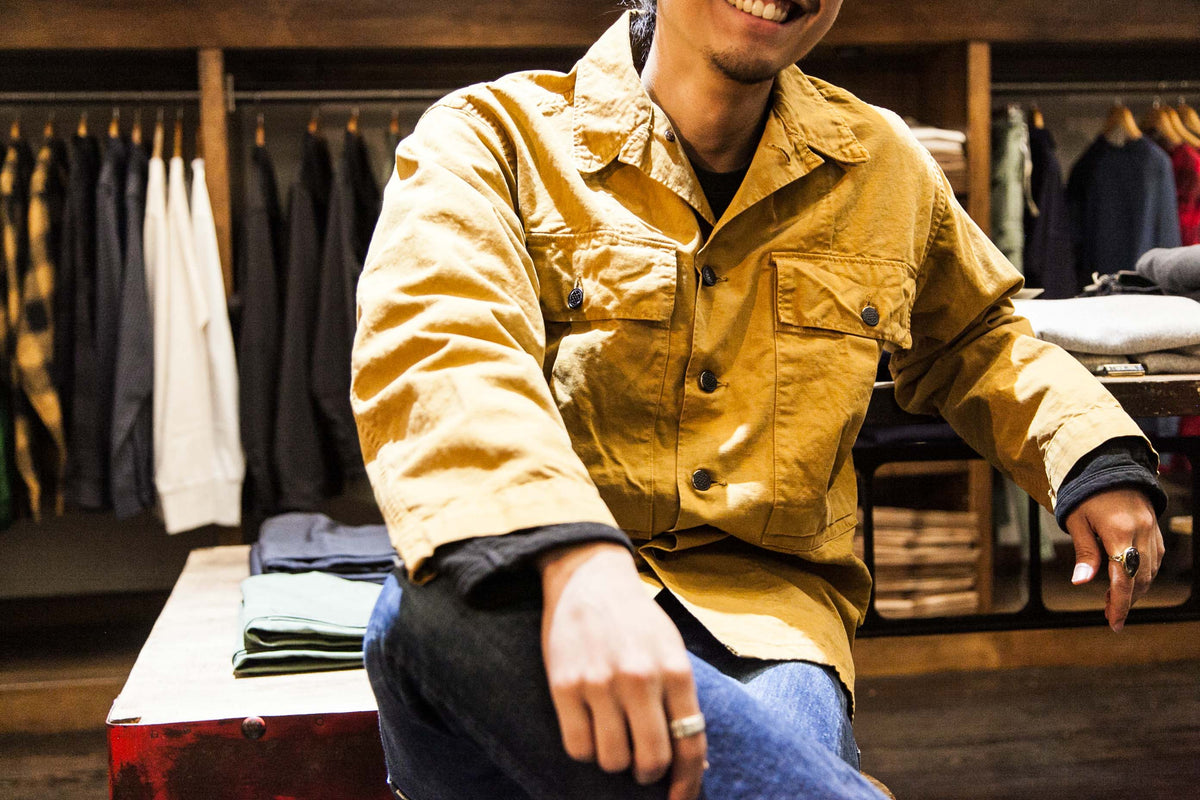 ORSLOW COMBO: US ARMY JACKET & DENIM