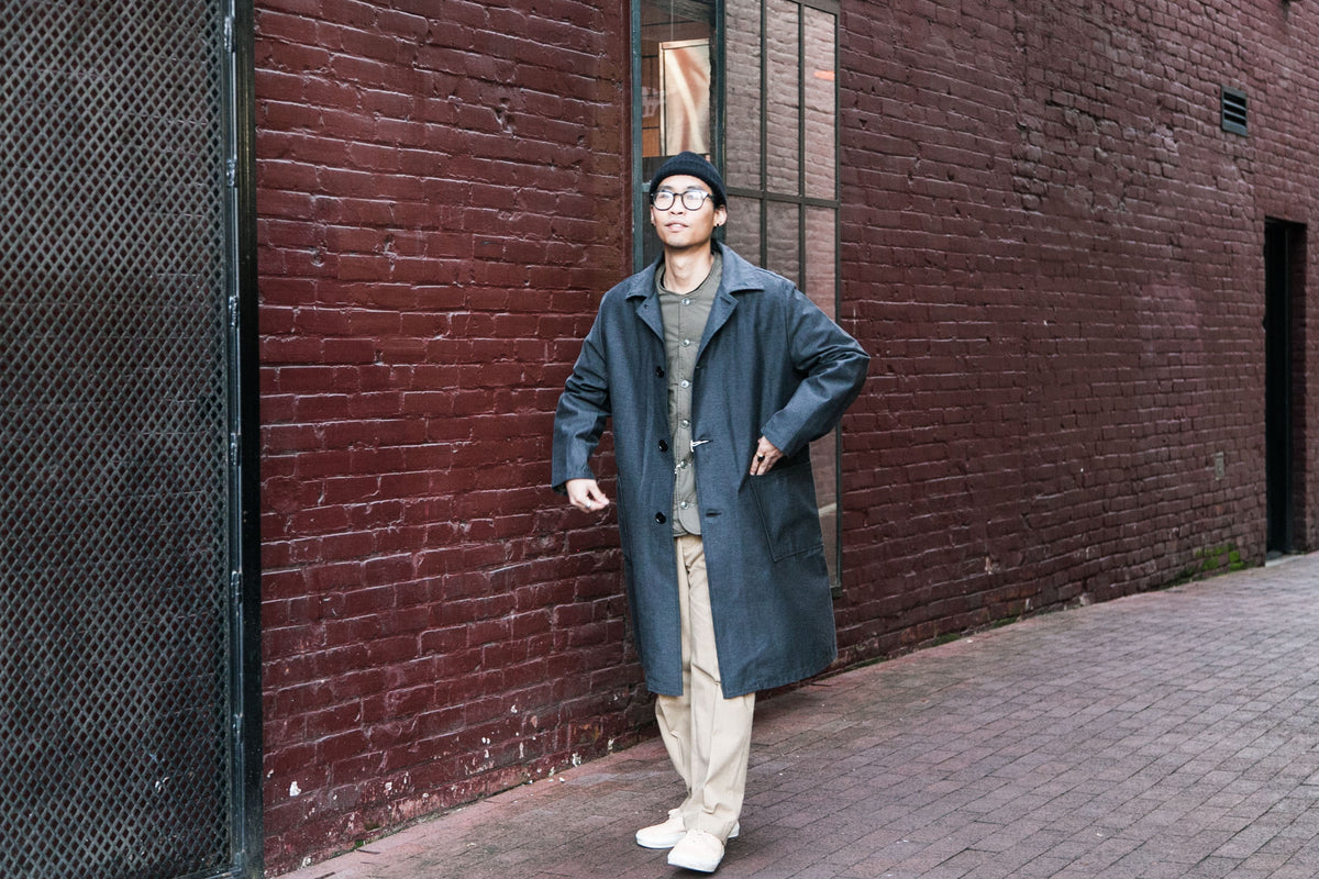 PRISONER COAT | COTTON SHELL JACKET | GURKHA PANTS