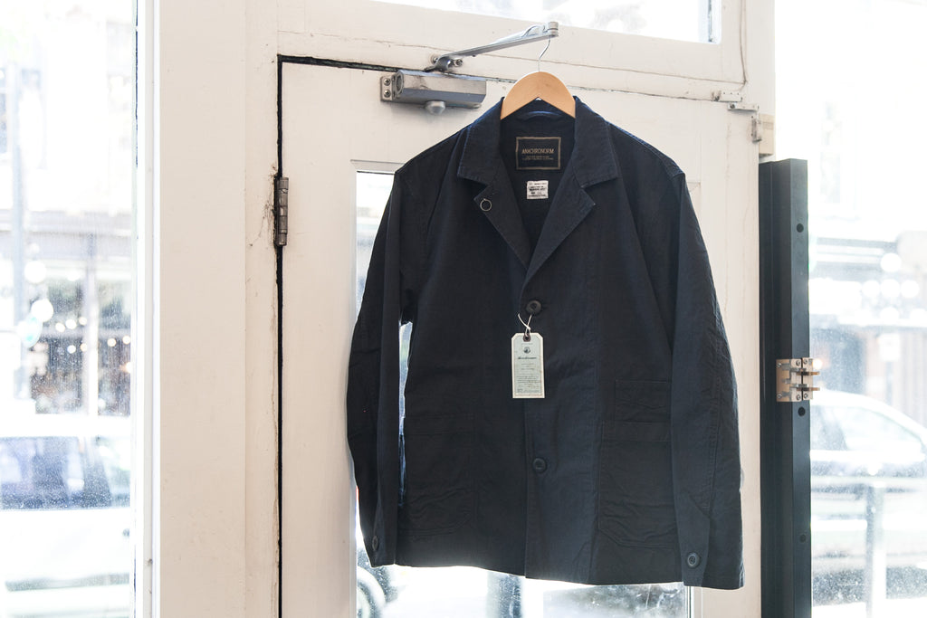 "[SALE] ANACHRONORM  WORK LAPEL JACKET ""BLACK"""