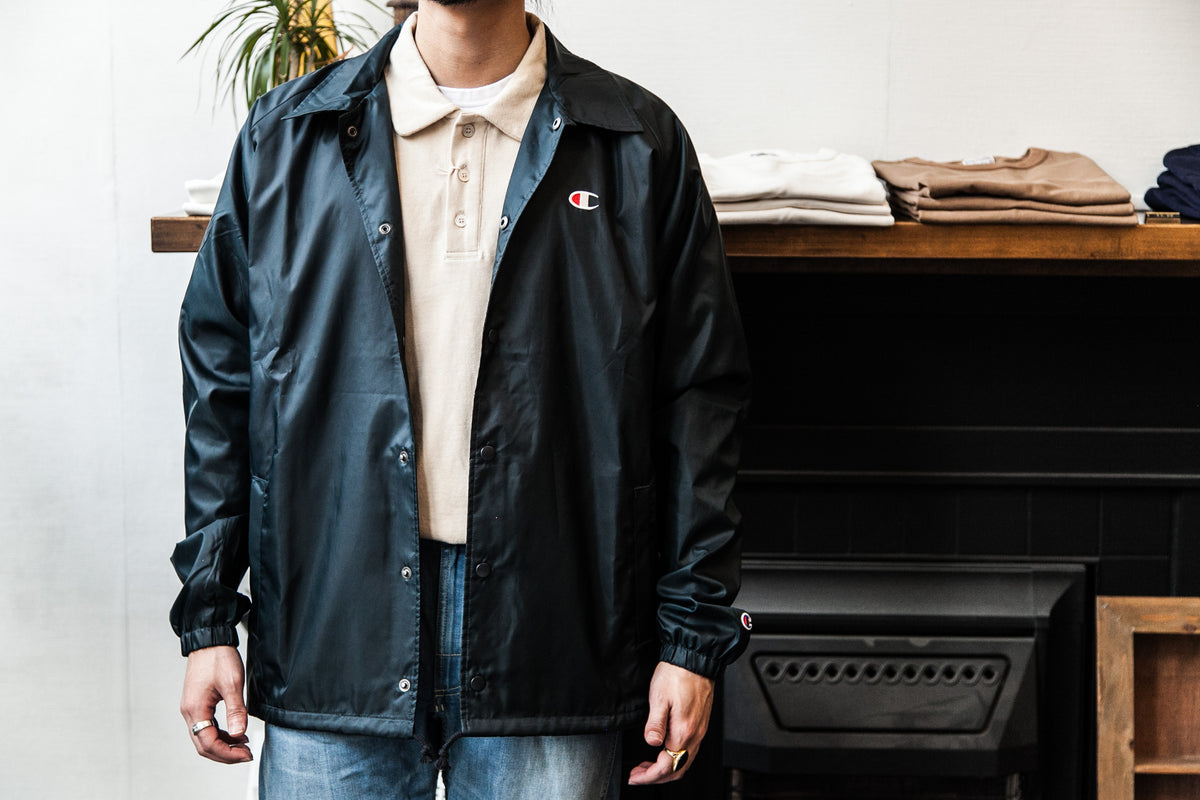 "CHAMPION LIFE®: COACHES JACKET WEST BREAKER EDITION ""DARK GREEN"""