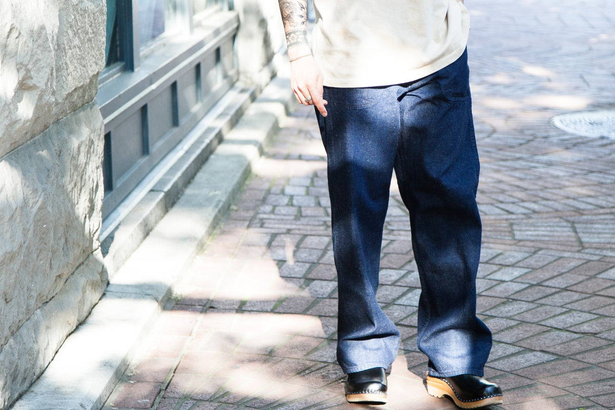 "ORSLOW SS18: US NAVY UTILITY PANTS ""ONE WASH"""