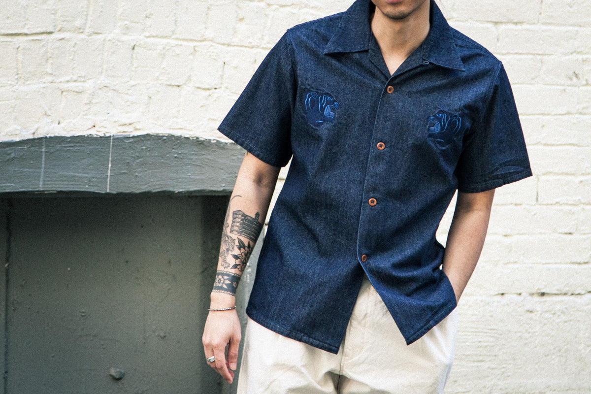 MOMOTARO SS18: SOUVENIR S/S WORK SHIRT & LIGHT EASY PANTS