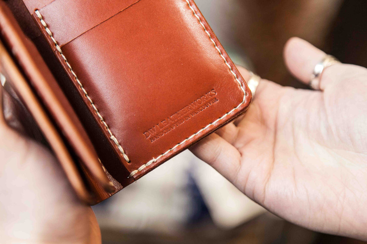 DW Leatherworks : New Wallet