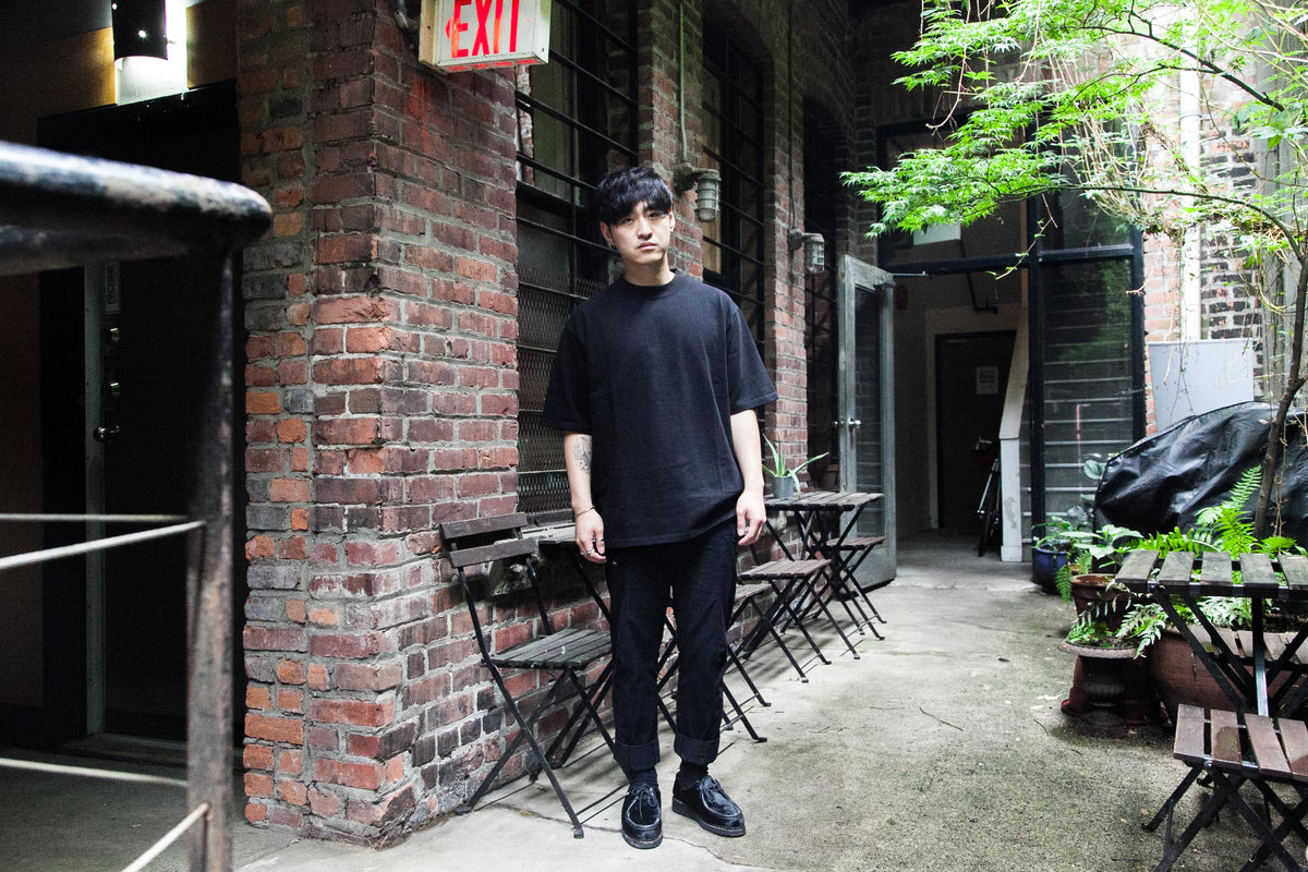 "MERRY COMPANY: HEAVYWEIGHT OVERSIZED TEE ""BLACK"""