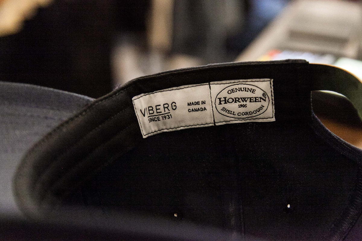 VIBERG: SIX PANEL CAP