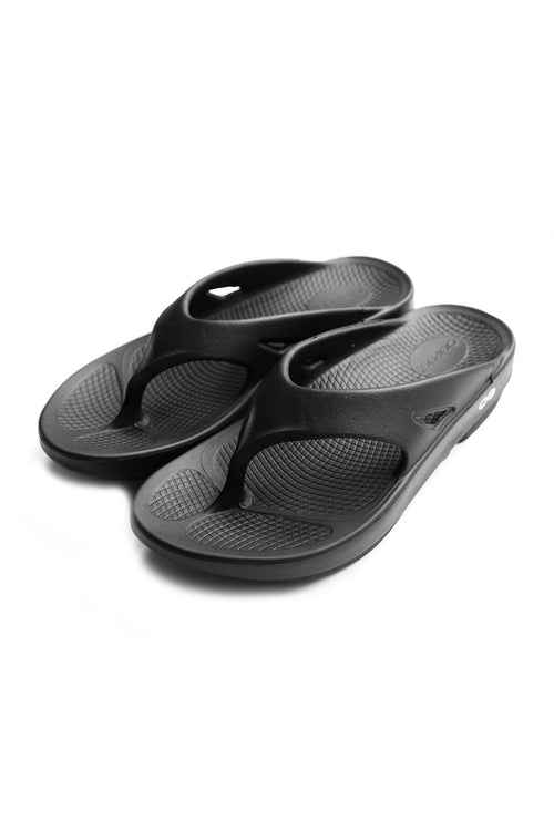 BLACK OORIGINAL SANDALS