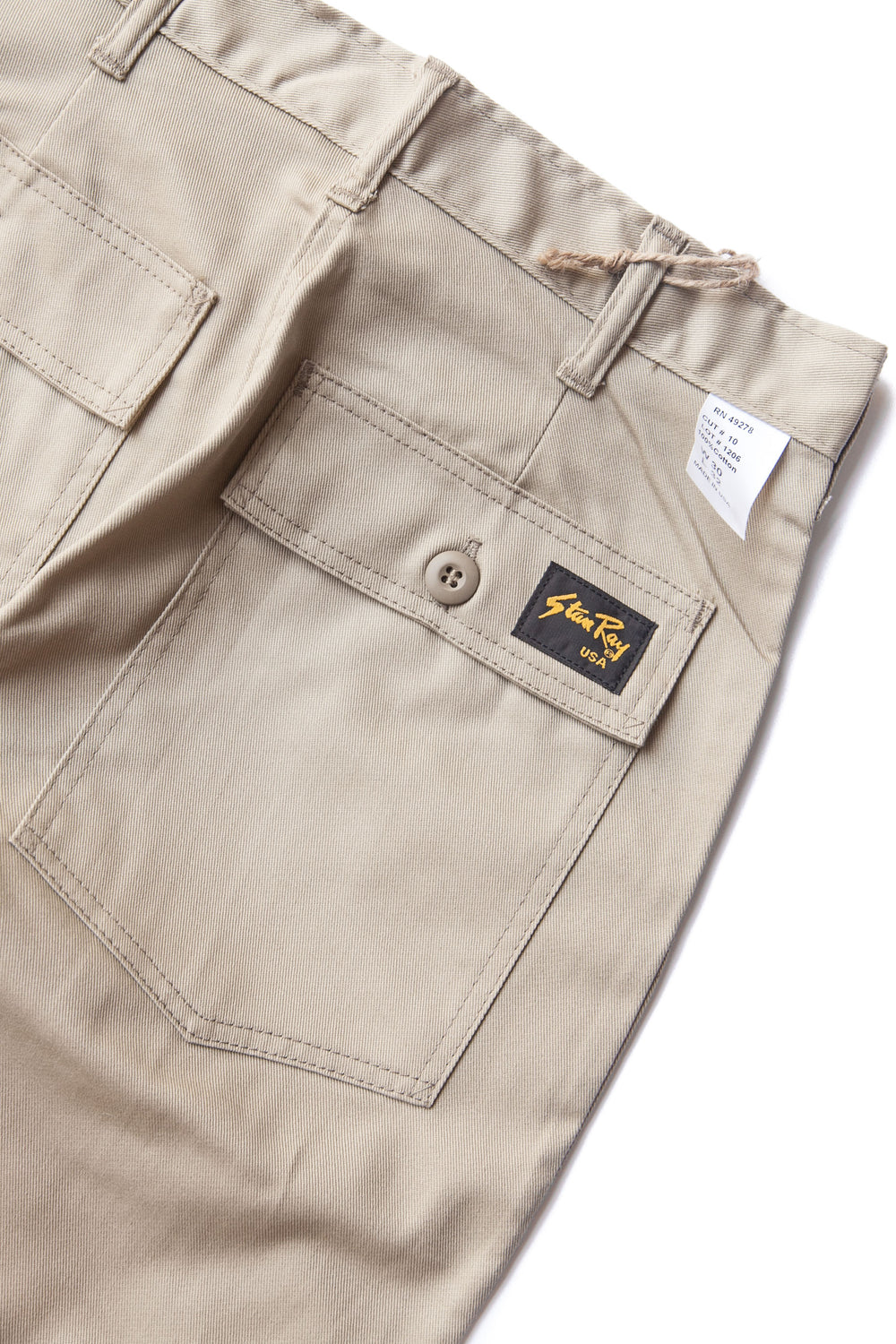 TAPER FATIGUE KHAKI TWILL