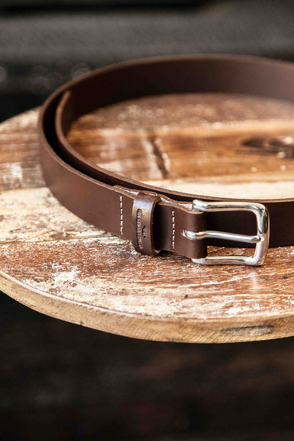 CLASSIC BELT – CHOCOLATE BROWN
