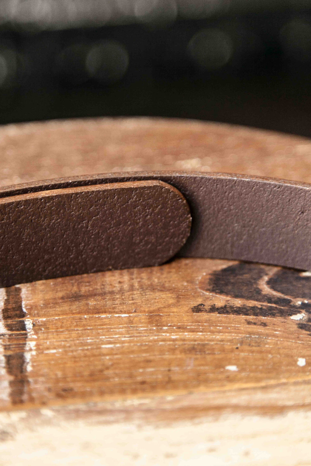 "CLASSIC BELT 1 1/4"" – CHOCOLATE BROWN"