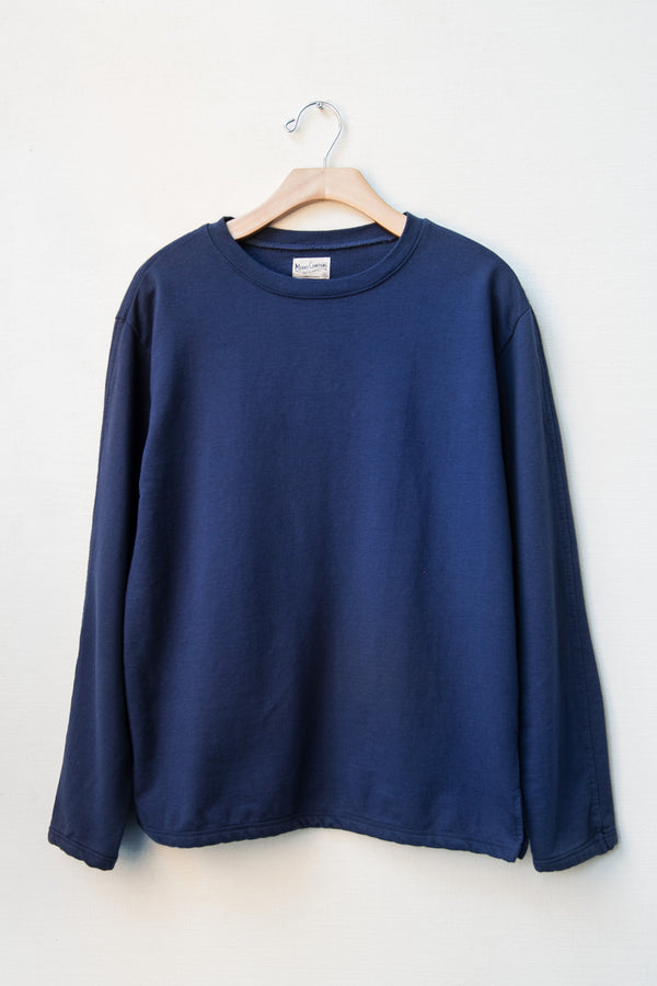 LONG SLEEVE TEE NO. 2- WASHED BLUE