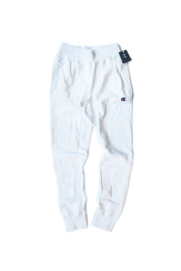 REVERSE WEAVE JOGGER SILVER GREY