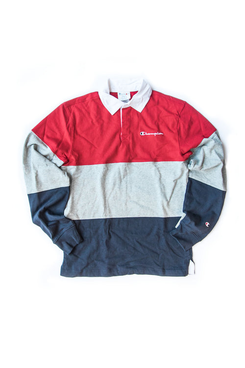 COLOURBLOCK RUGBY SHIRT
