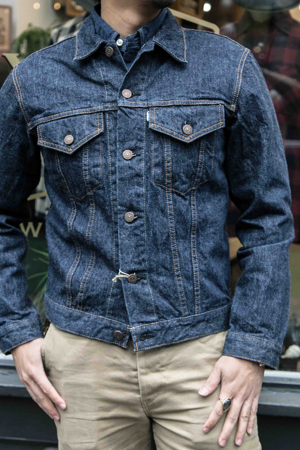 1960S TYPE 3 DENIM JACKET – ONE WASH